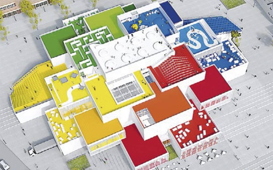 ¡Para los chicos y los no tanto! Abren la Casa Lego en Dinamarca