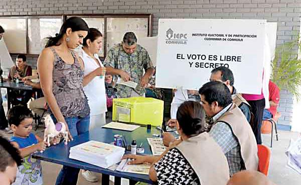 ¿Qué se votará en el estado de Coahuila este domingo 4 de junio?