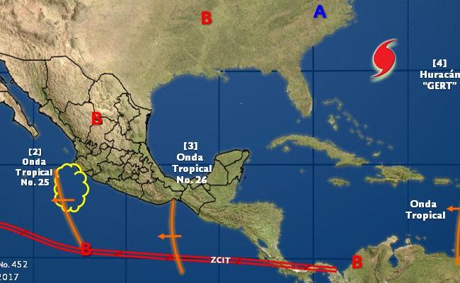 Gert se convierte en huracán categoría; se ubica lejos de costas mexicanas