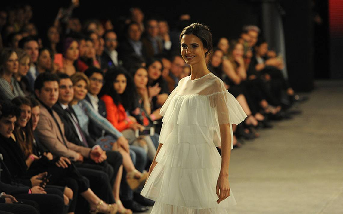 Blanca Padilla celebró la edición 30 del Fashion Fest