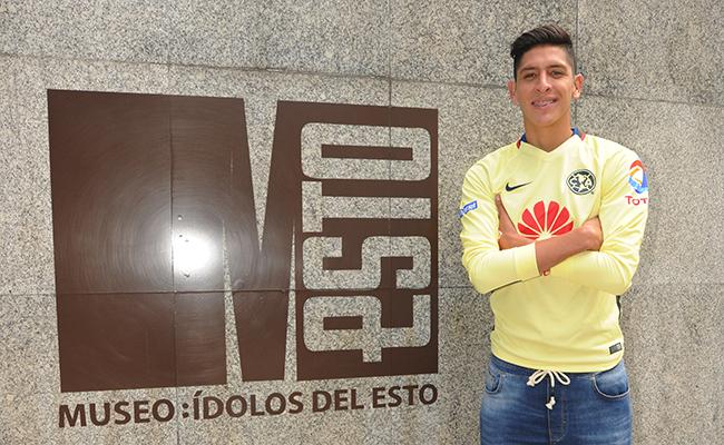 Márquez el idolo de Edson Álvarez