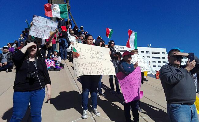 Protestan nuevamente contra gasolinazo en varios estados