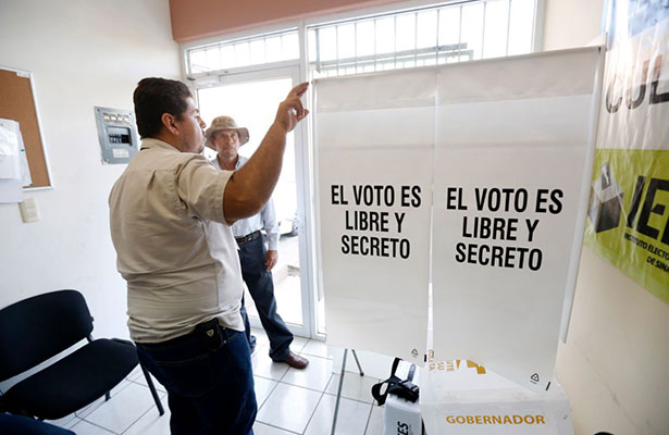 Sin incidentes jornada electoral extraordinaria en Zacatecas