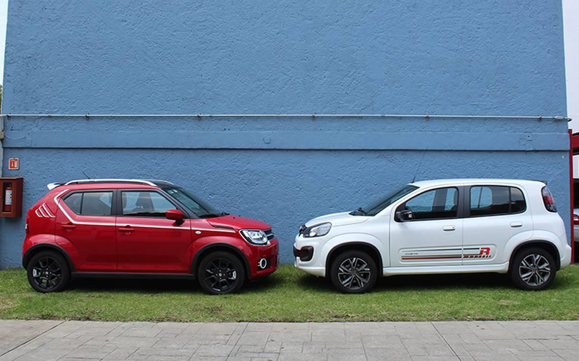 El japonés Suzuki IGNIS vs. el italiano Fiat UNO