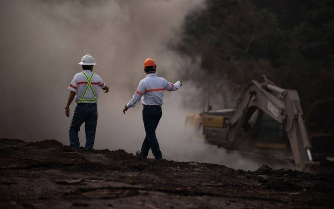 Volcán de Fuego de Guatemala registra nuevos descensos de lahares