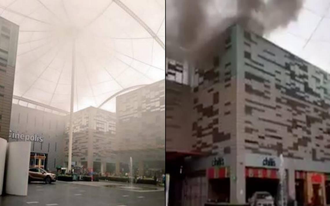 Se incendia Chilli's en centro comercial Acoxpa