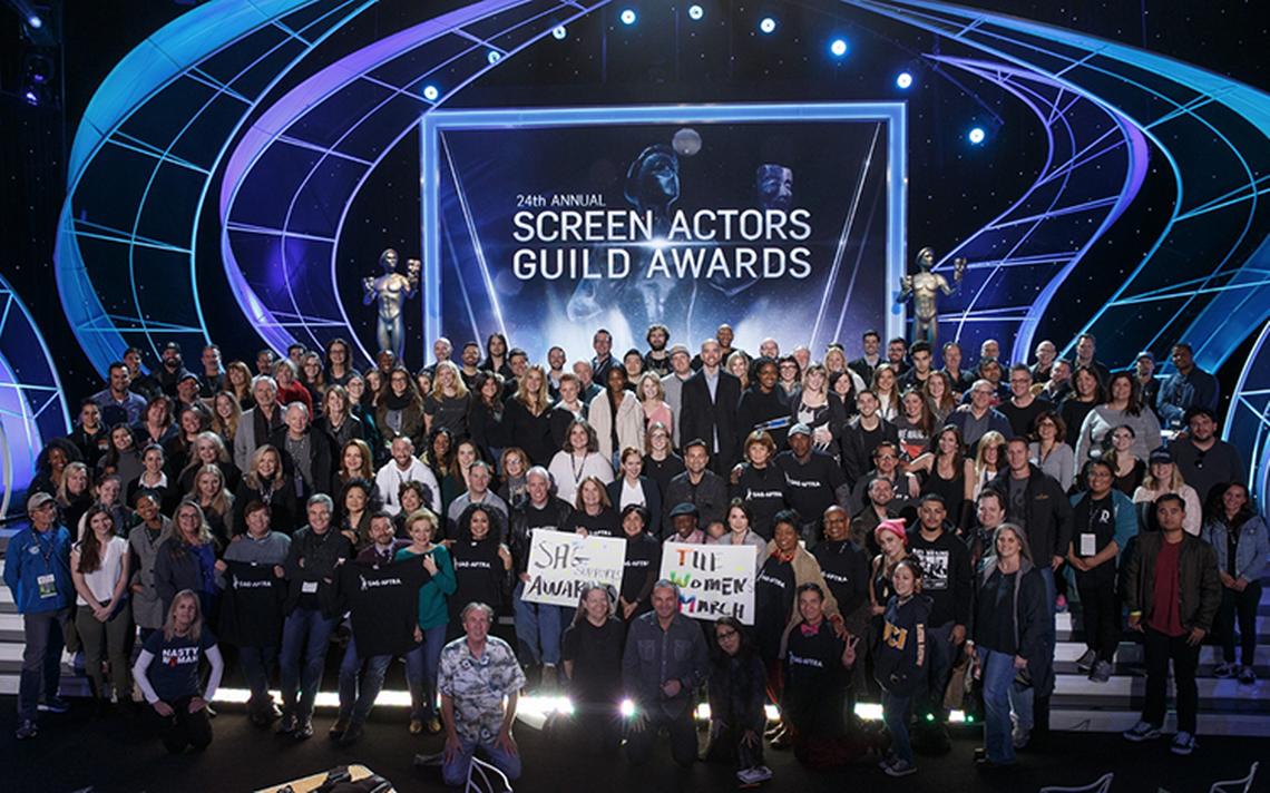 Mujeres tomarán el mando de los SAG Awards