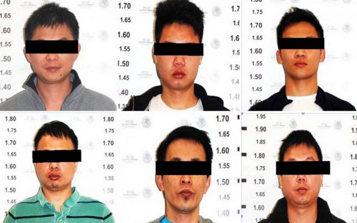 Detienen en CDMX a seis chinos y cuatro mexicanos ligados al CJNG