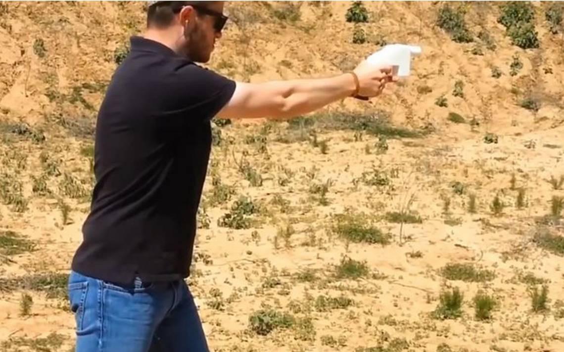 Pistolas impresas en 3D; la nueva polémica de armas en EU divide opiniones