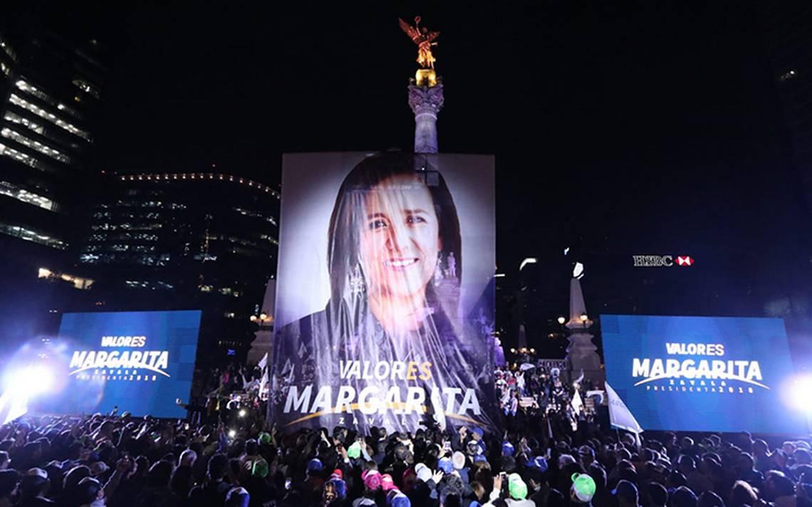 A México lo sacamos los valientes: Margarita Zavala arranca campaña