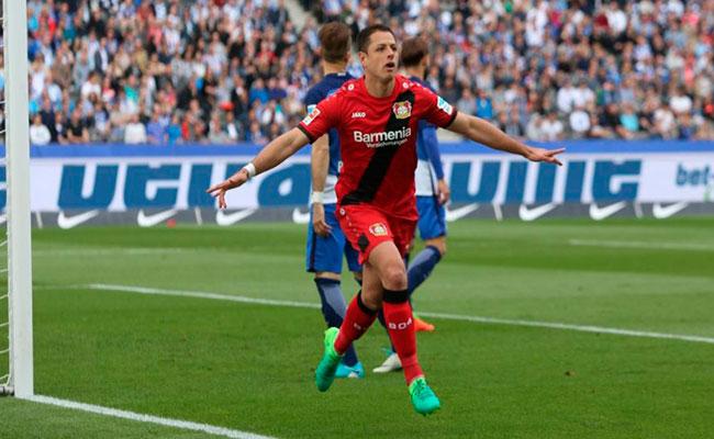 """Leverkusen, dispuesto a vender a """"Chicharito"""""""