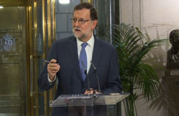 Rajoy reitera que impedirá referéndum de independencia en Cataluña