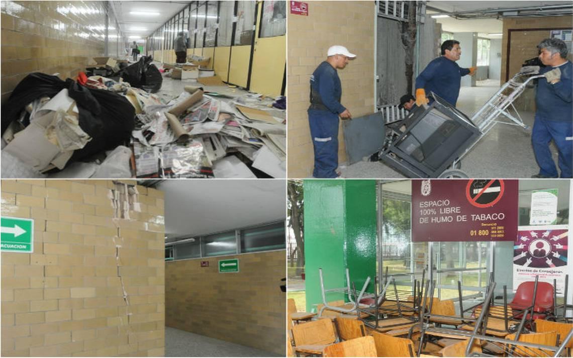 IPN inicia reconstrucción de seis planteles afectados por el 19S