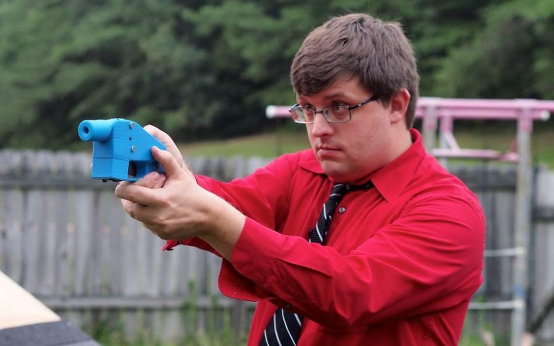Justicia de EU detiene manuales para imprimir armas 3D en casa