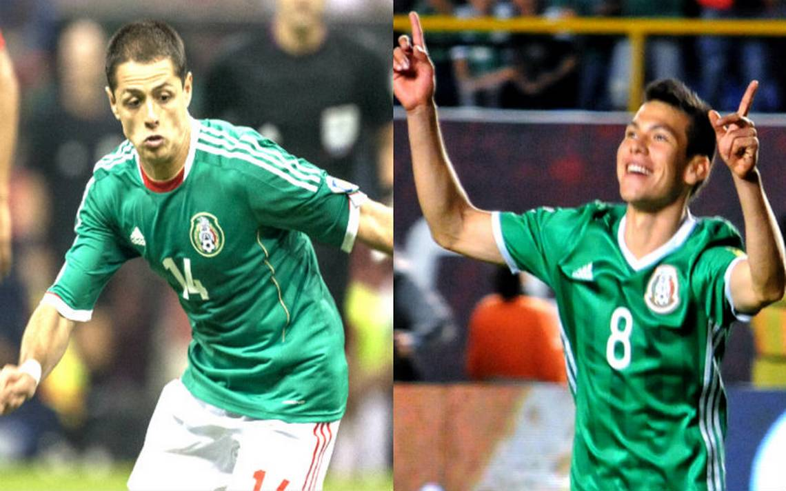 """México atacará con doble CH en el Mundial: """"Chicharito"""" Hernández y """"Chucky"""" Lozano"""