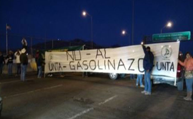 Bloqueo fronterizo deja perdidas en Chihuahua