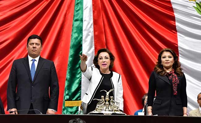 María Guadalupe Murguía asume presidencia en Cámara de Diputados
