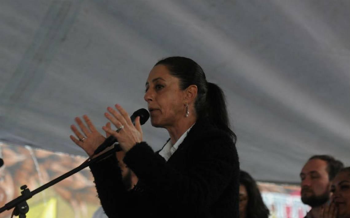 Claudia Sheinbaum promete nuevo censo de damnificados si gana elección