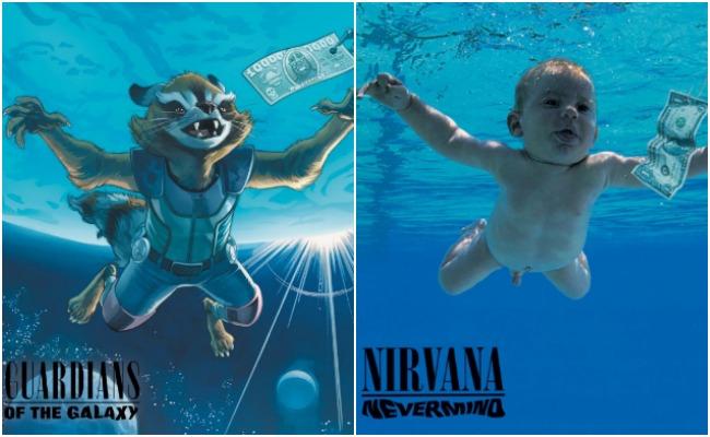 Clásicos del rock regresan con portadas al estilo de Marvel