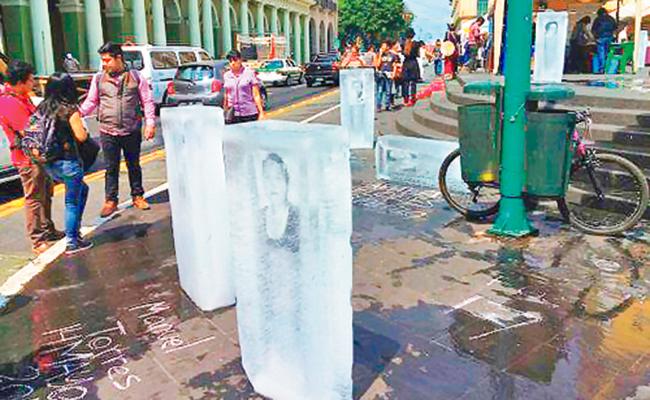 Recuerdan a periodistas asesinados en Veracruz