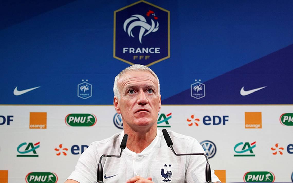 Deschamps, decepcionado porque ningún francés figura como finalista a The Best