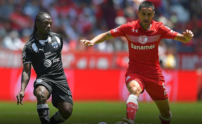 Empata Toluca con Monterrey 1-1