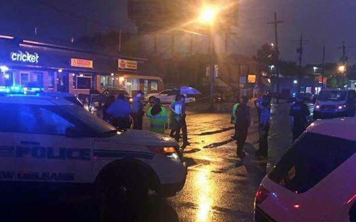Tiroteo en Nueva Orleans deja dos muertos y varios heridos