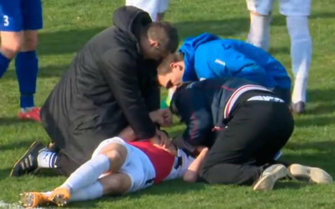 Luto en el futbol, fallece joven croata en pleno partido