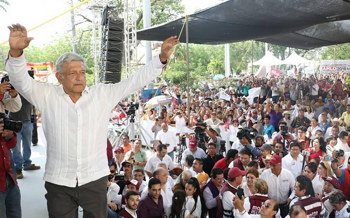 No podrA?n alcanzarnos ni con salida de Ochoa Reza del PRI: AMLO