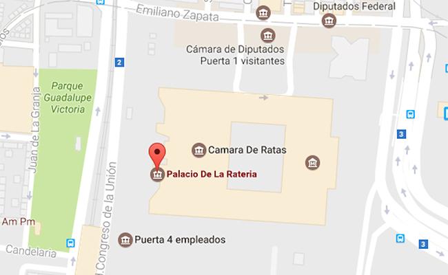 Nuevo hackeo a Google Maps; cambian nombre al Poder Legislativo
