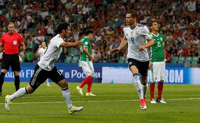 Alemania, a la gran final tras golear 4-1 a México