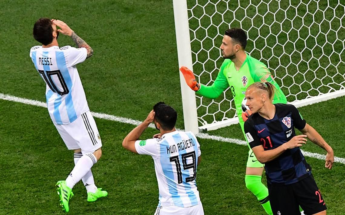 Dios se olvidó de un Argentina derrotado por croatas