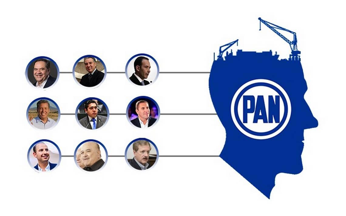 Renovación blanquiazul: ellos quieren dirigir al PAN