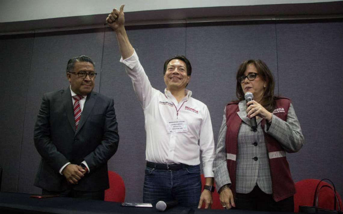 Mario Delgado asume coordinación de los diputados de Morena