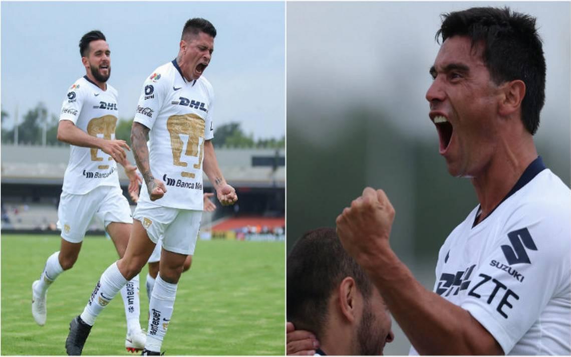Pumas golea 4-2 a Lobos BUAP y ya es segundo lugar de la Liga MX