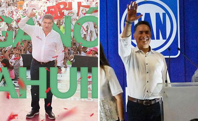 Candidatos de PRI y PAN se declaran ganadores de gubernatura en Coahuila