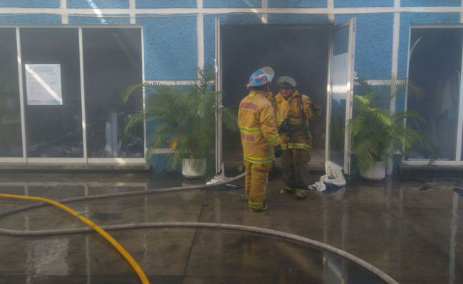 Incendian oficinas de Acción Nacional en Oaxaca