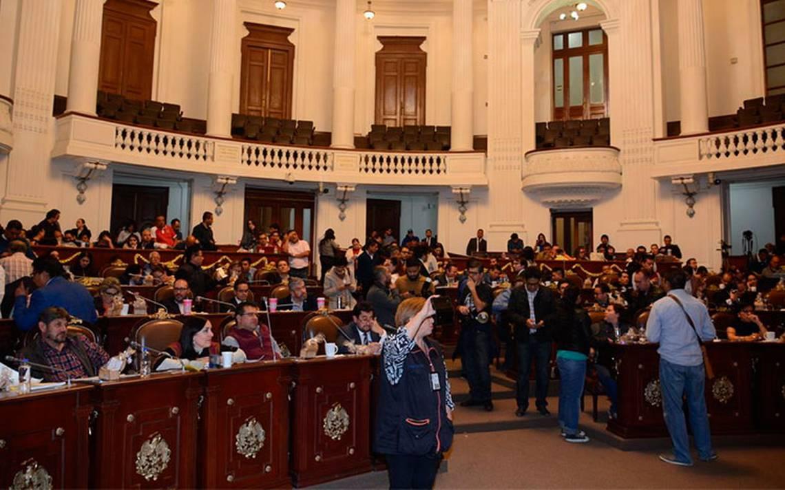 Asamblea Legislativa aprueba la Ley de Ingresos 2018 para la CDMX