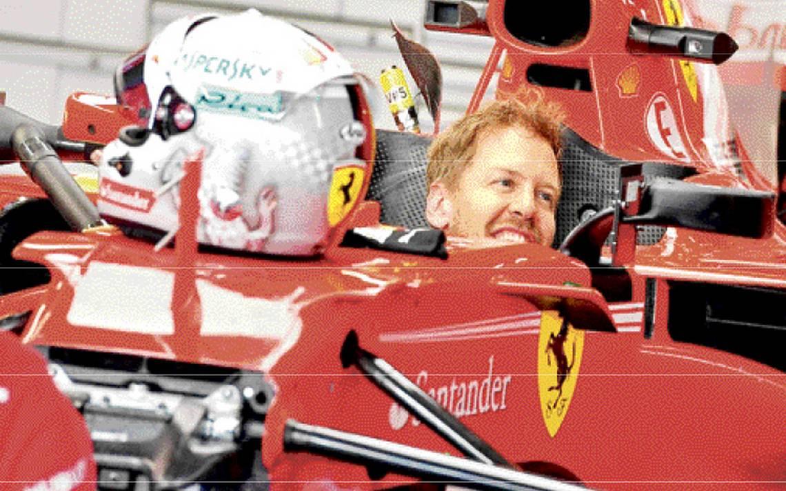 Sebastian Vettel quedó a deber en el Campeonato Mundial de la Fórmula Uno