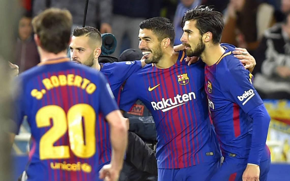 Con doblete de Luis Suárez, Barcelona vence a la Real Sociedad