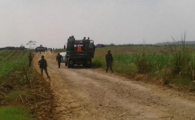 Ejército asegura aeronave, droga y armas en Tuxtepec