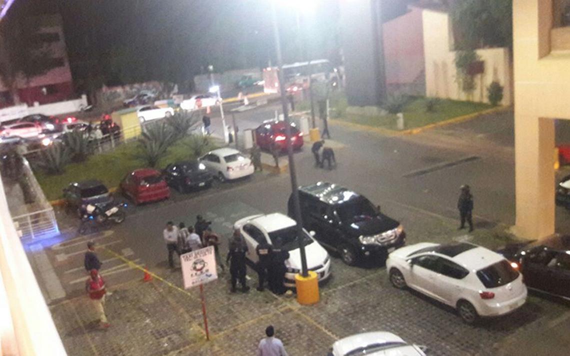 Pánico por balacera en Macroplaza de Oaxaca