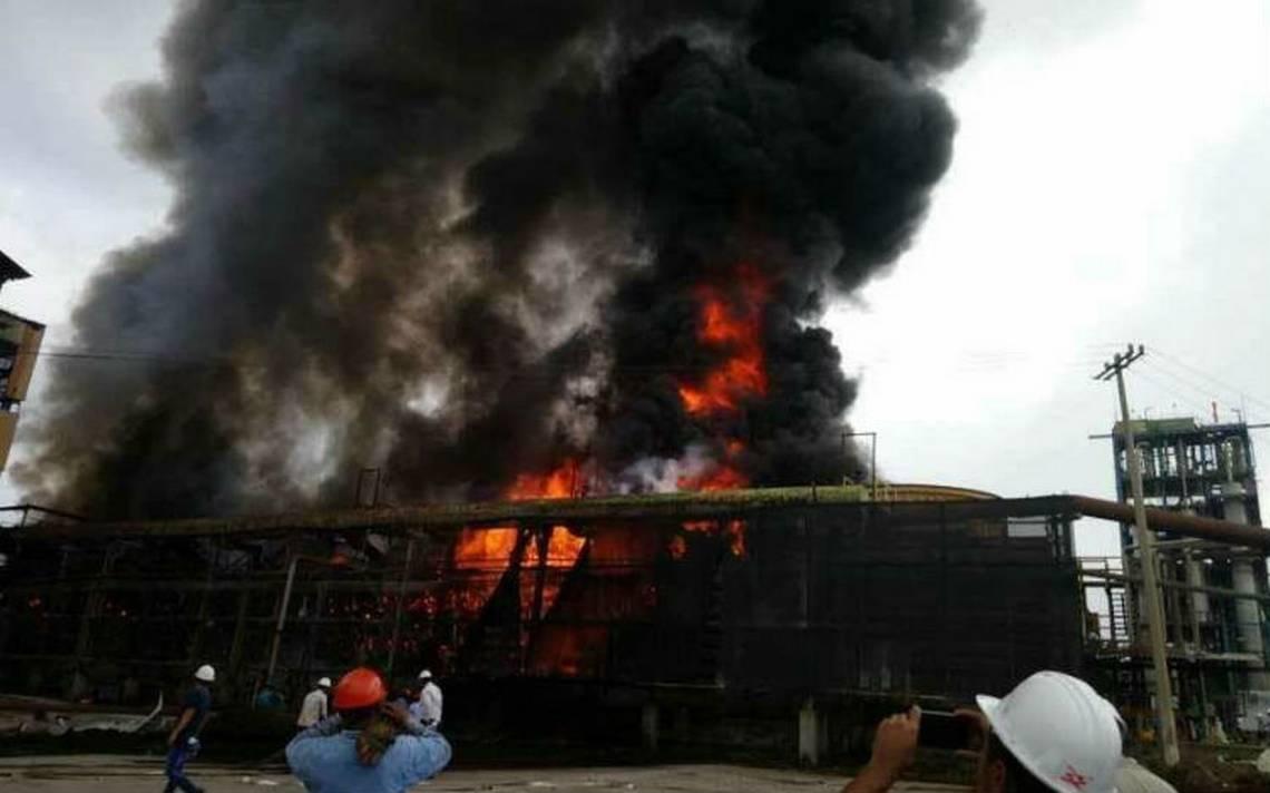 Incendio consume parte de ingenio azucarero en Chiapas