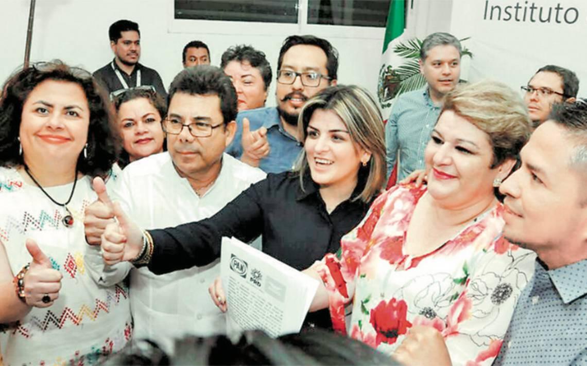 Pese a 'rebeldes', PRI-PVEM-Panal irán en coalición en Chiapas