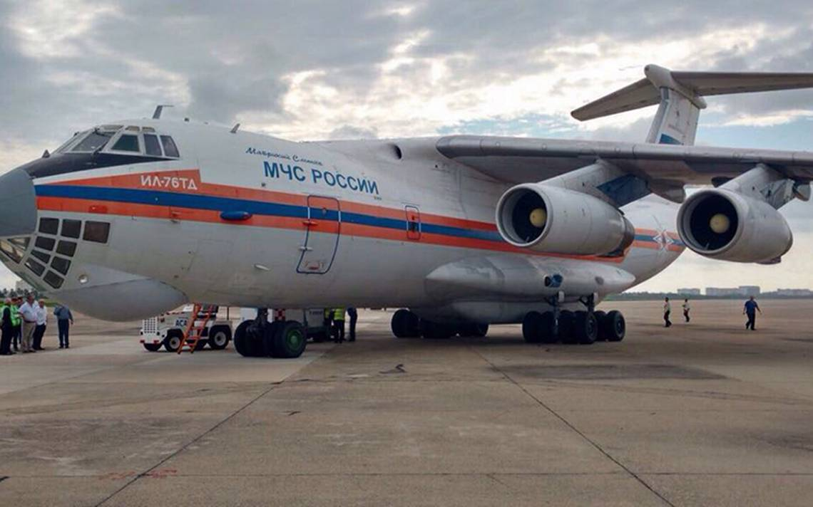 Llega ayuda humanitaria rusa