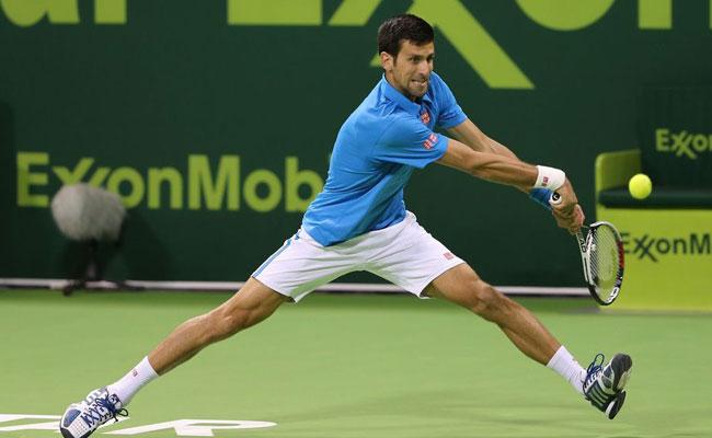 Novak Djokovic vence a Horacio Zeballos en Torneo de Doha
