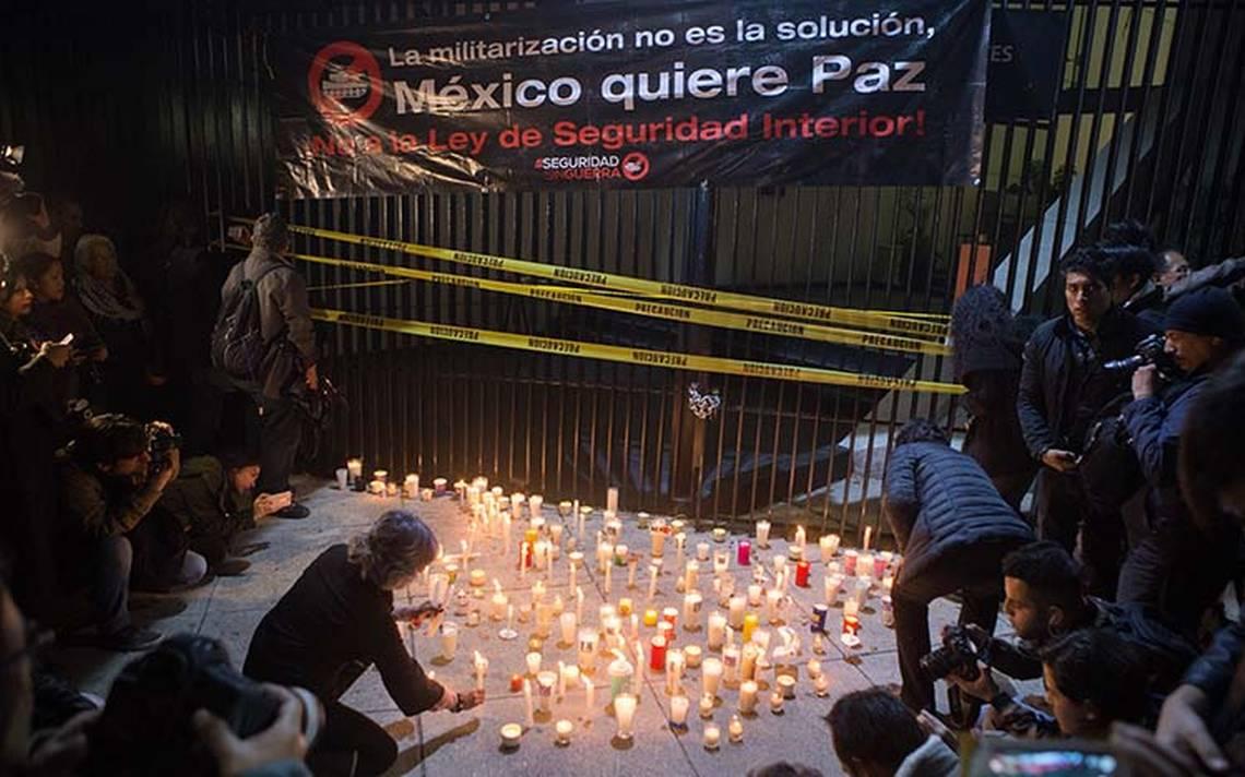 CNDH pide a Peña Nieto observaciones a Ley de Seguridad Interior