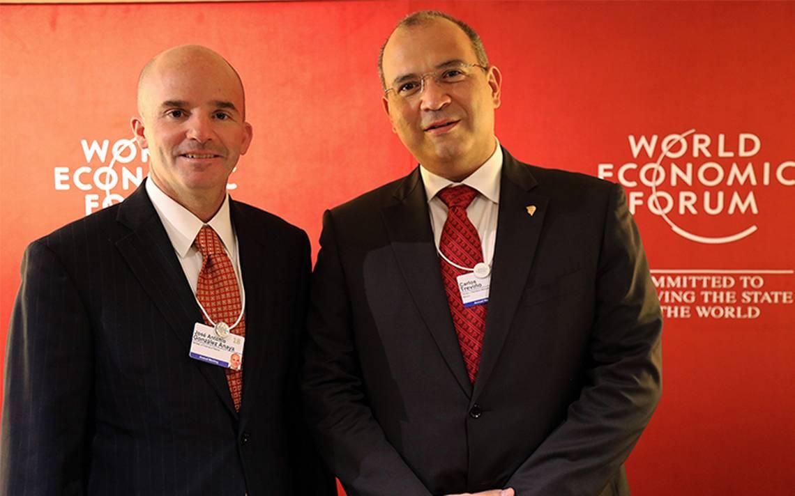 Hacienda y Pemex blindan inversión y reformas en Davos