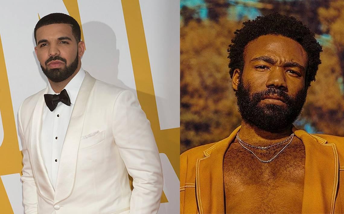 Childish Gambino y Drake destacan entre los nominados a los MTV Awards 2018