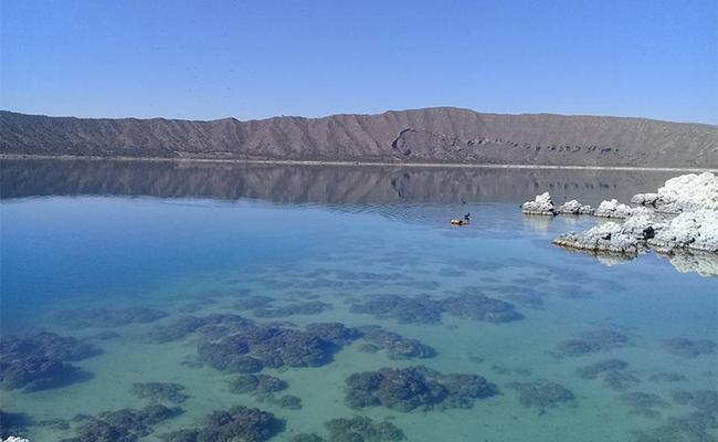 Laguna de Alchichica, naturaleza que cautiva